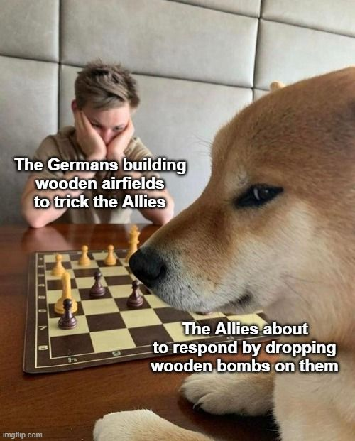 A tree-mendous response by the Allies