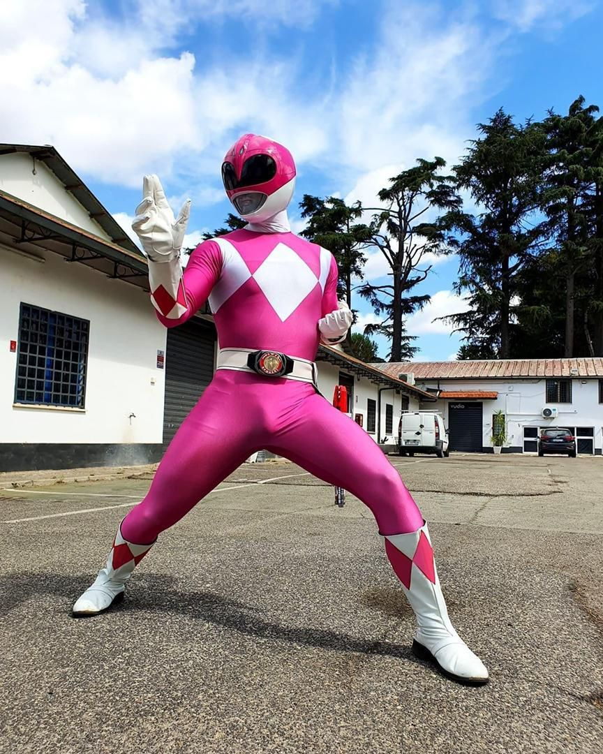It's morphin time! Wait a minute…