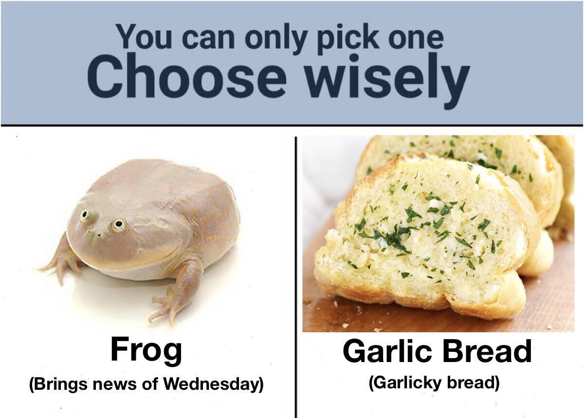 Tough choice this one
