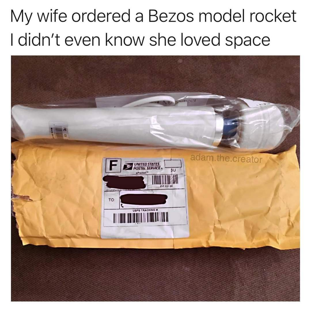 Faster Bezos, faster