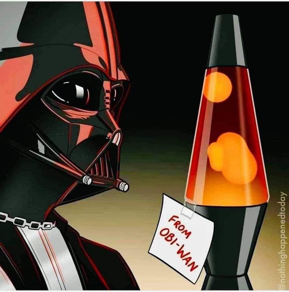 Always secure the high ground Anakin