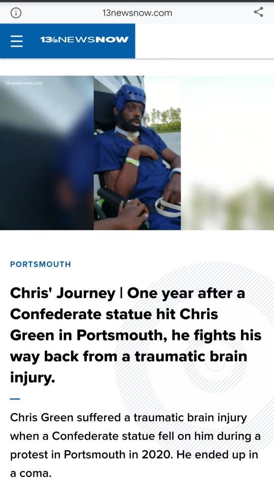 I hope the statue is ok