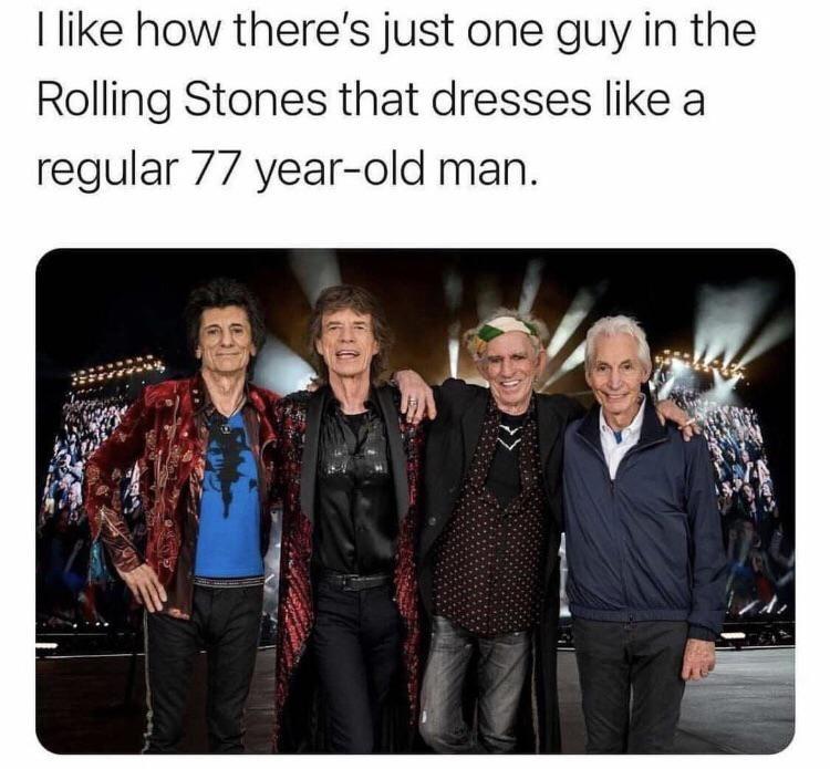 Regular 77 year-old man