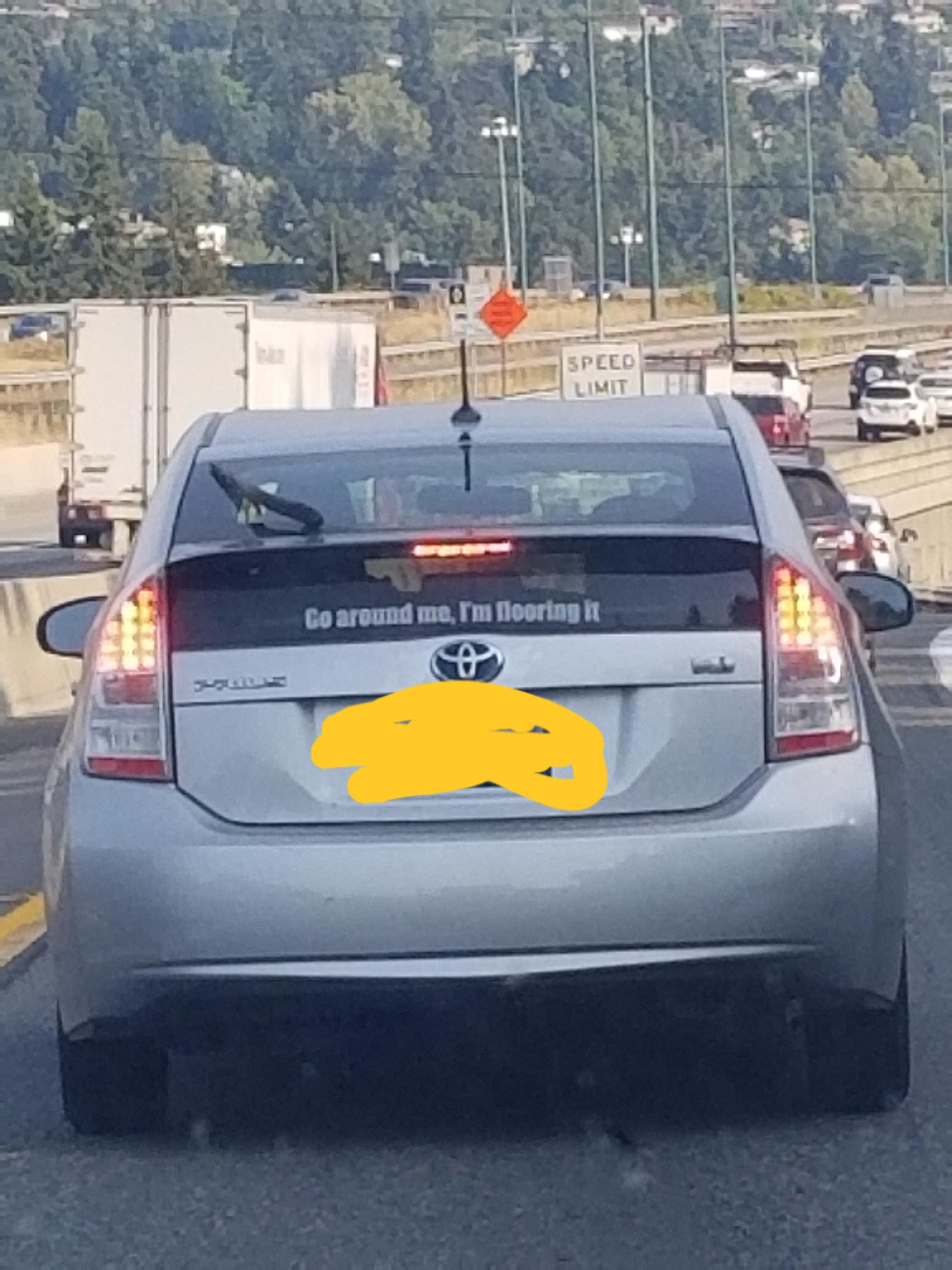 Only Prius driver I respect.