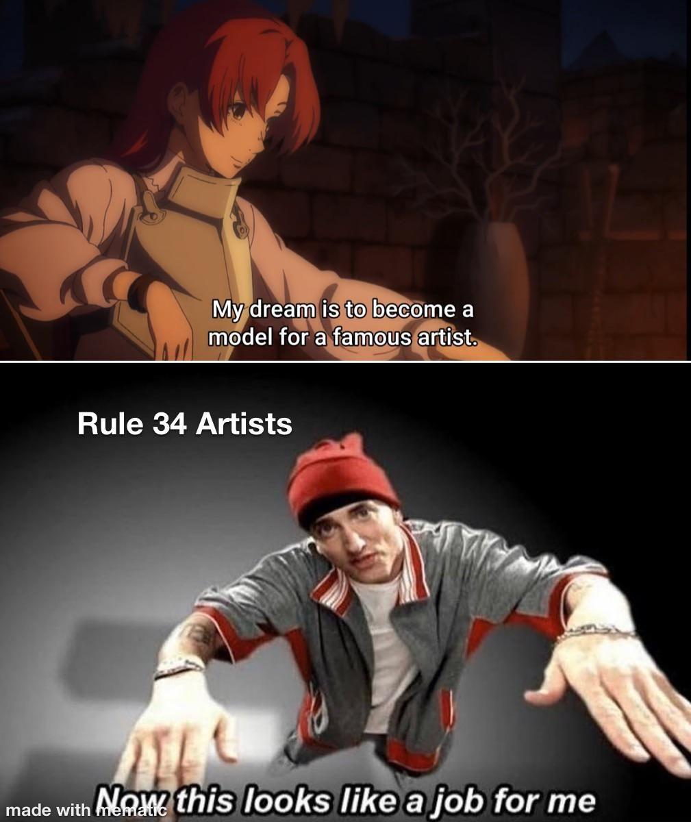 Haha Rule 34 Artists go Brrrrtttttt