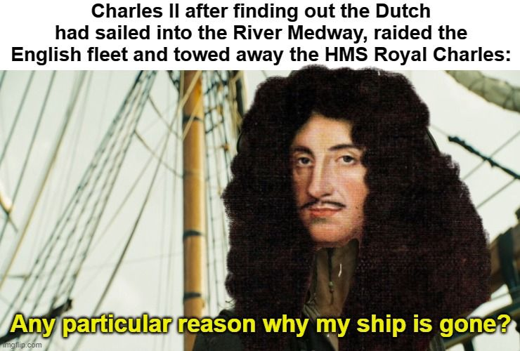 Weekly Contest #121: The Anglo-Dutch Wars