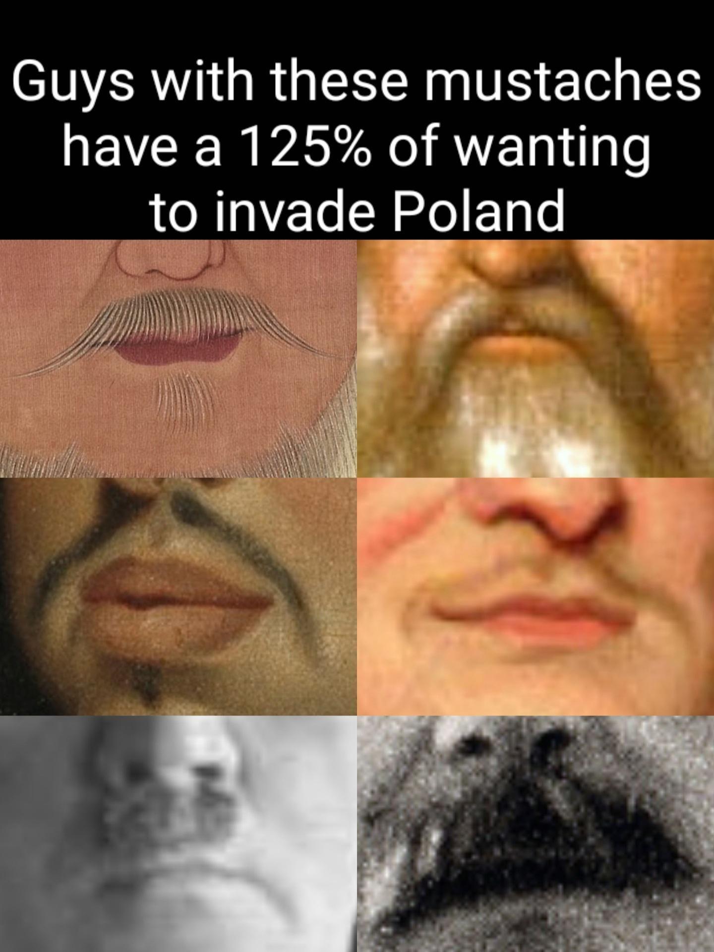 Genghis, Vasili, Charles, Frederick Wilhelm, Hitler and Stalin