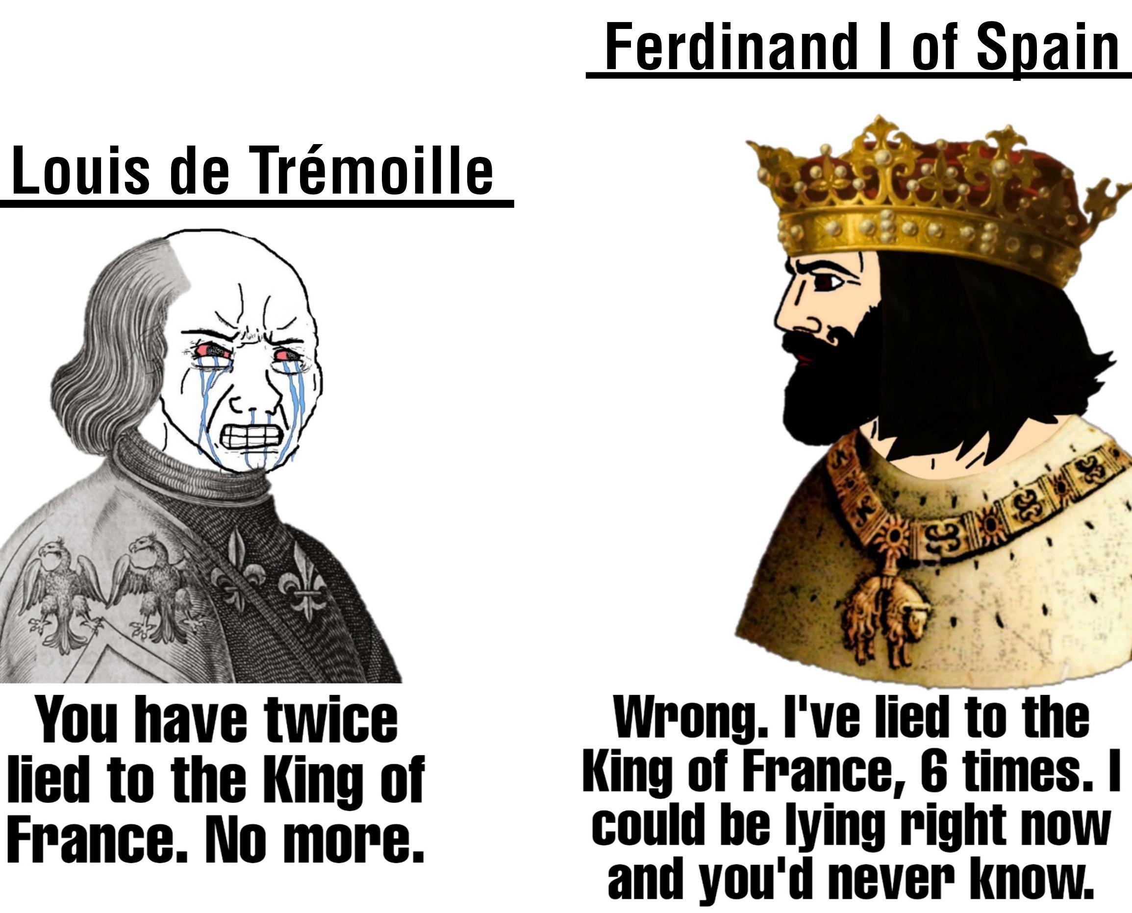 """We owe everything to him""— Philip II of Spain"