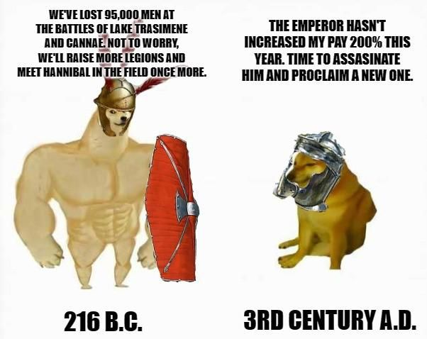 Gotta love those Punic War Legions