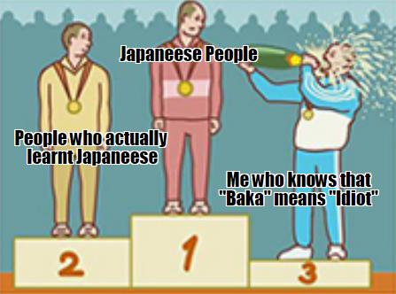 i tried learning Japanese.... i really tried