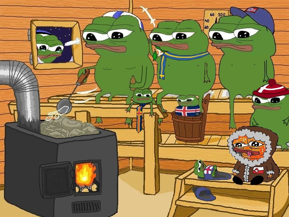 Take a Pepe, leave a pepe, wednesday frog edition
