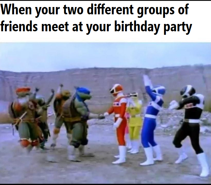 When we could have parties