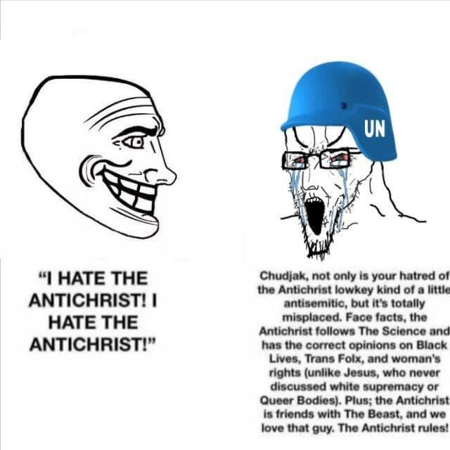 The eternal Blue Helm