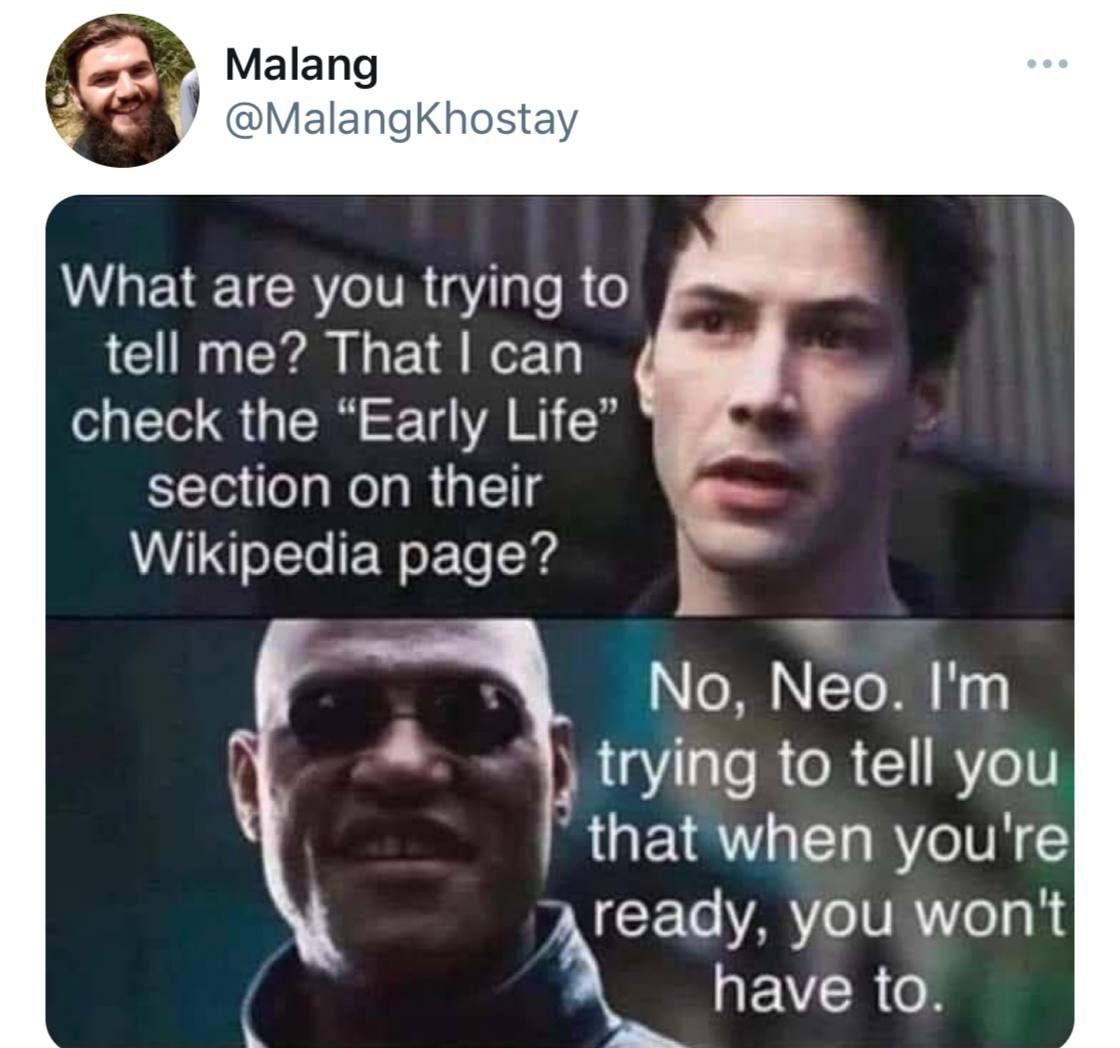 Damn Malang is at it again
