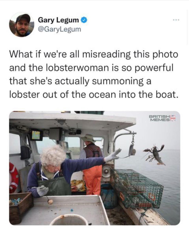 Lobsterwoman is too powerful!
