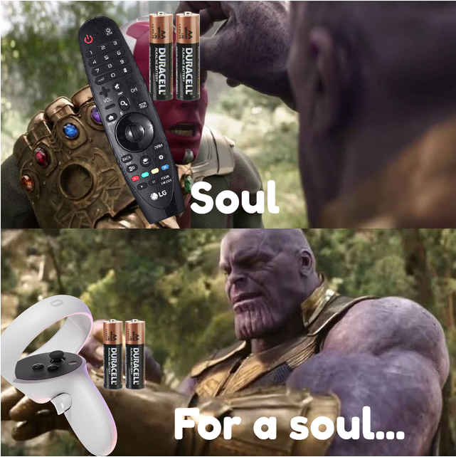 I'm sorry, little one