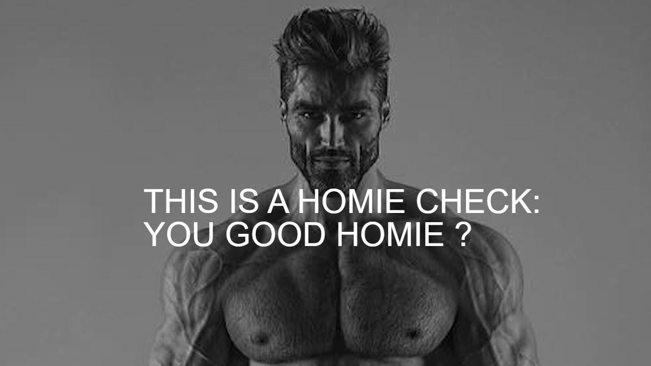 You good man ?