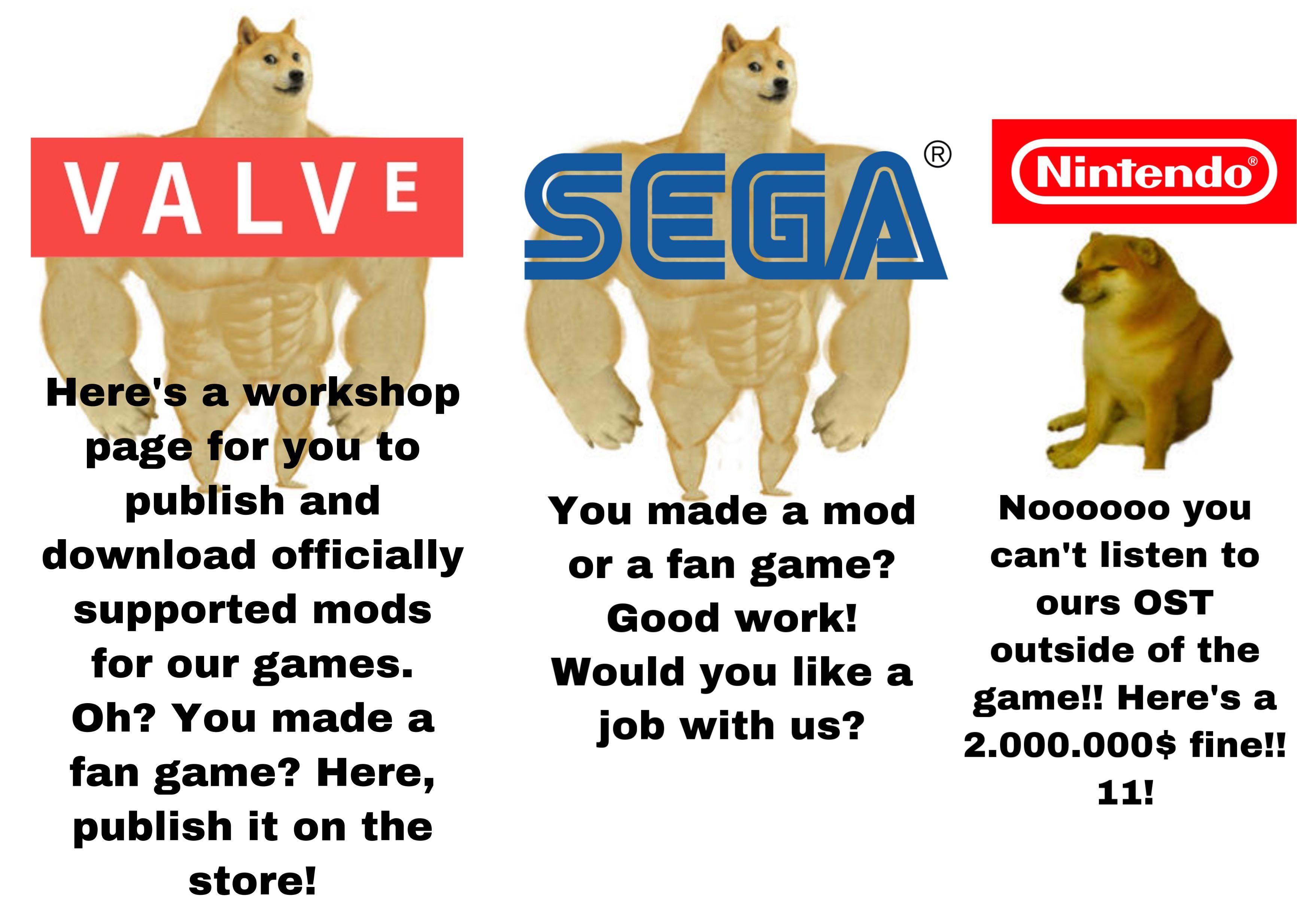 Nintendo doesn't like fans