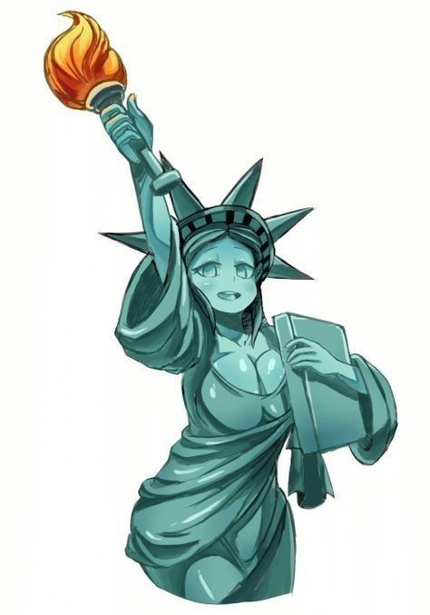 If Japanese made statue of liberty.