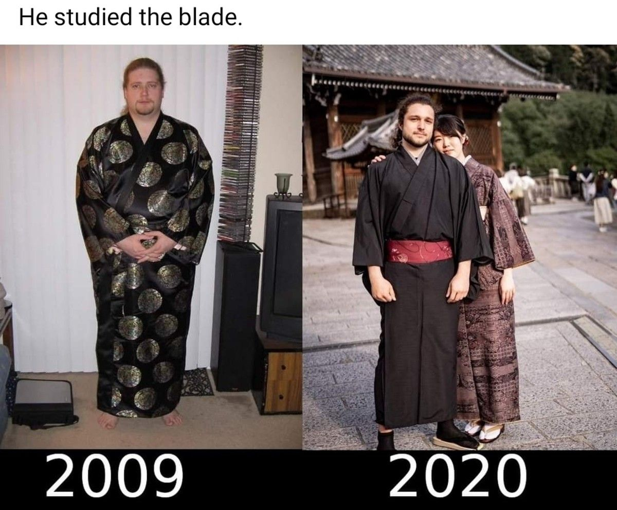studying the blade... paid off???