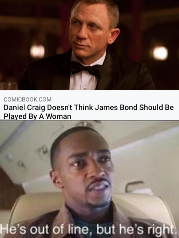 Maybe they will make agent 008