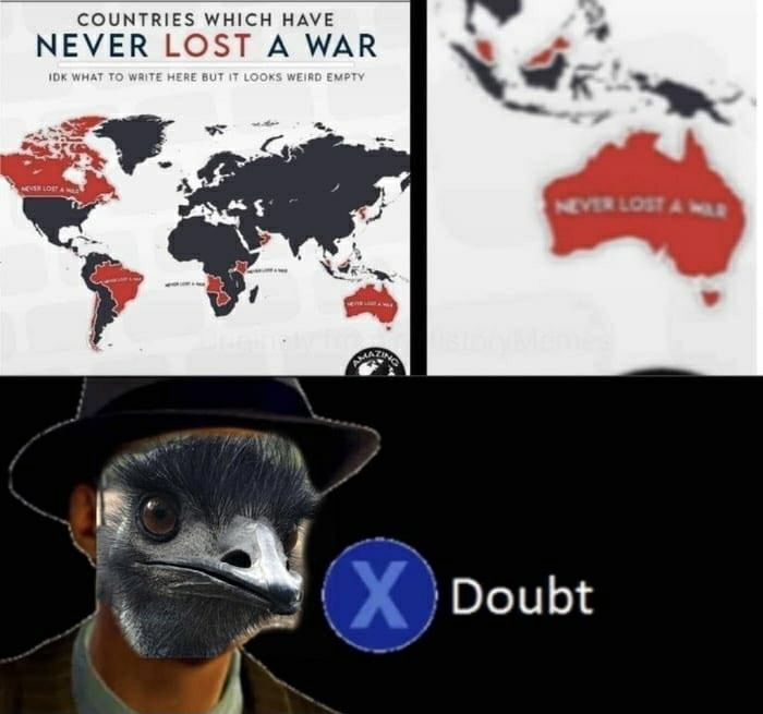 Australia's existence is a war on itself between it and nature