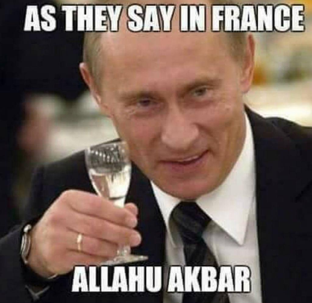 Thanks Putin