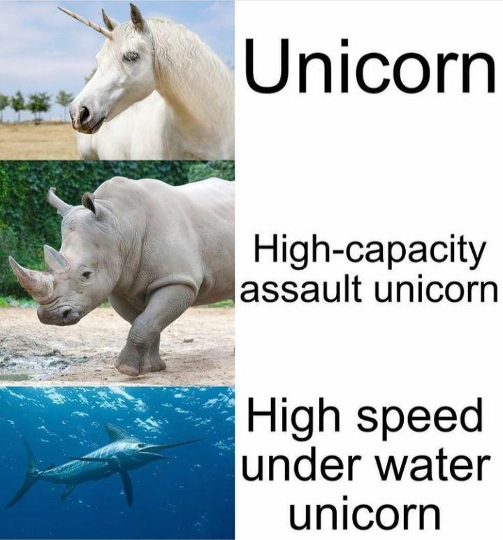 Horny creatures