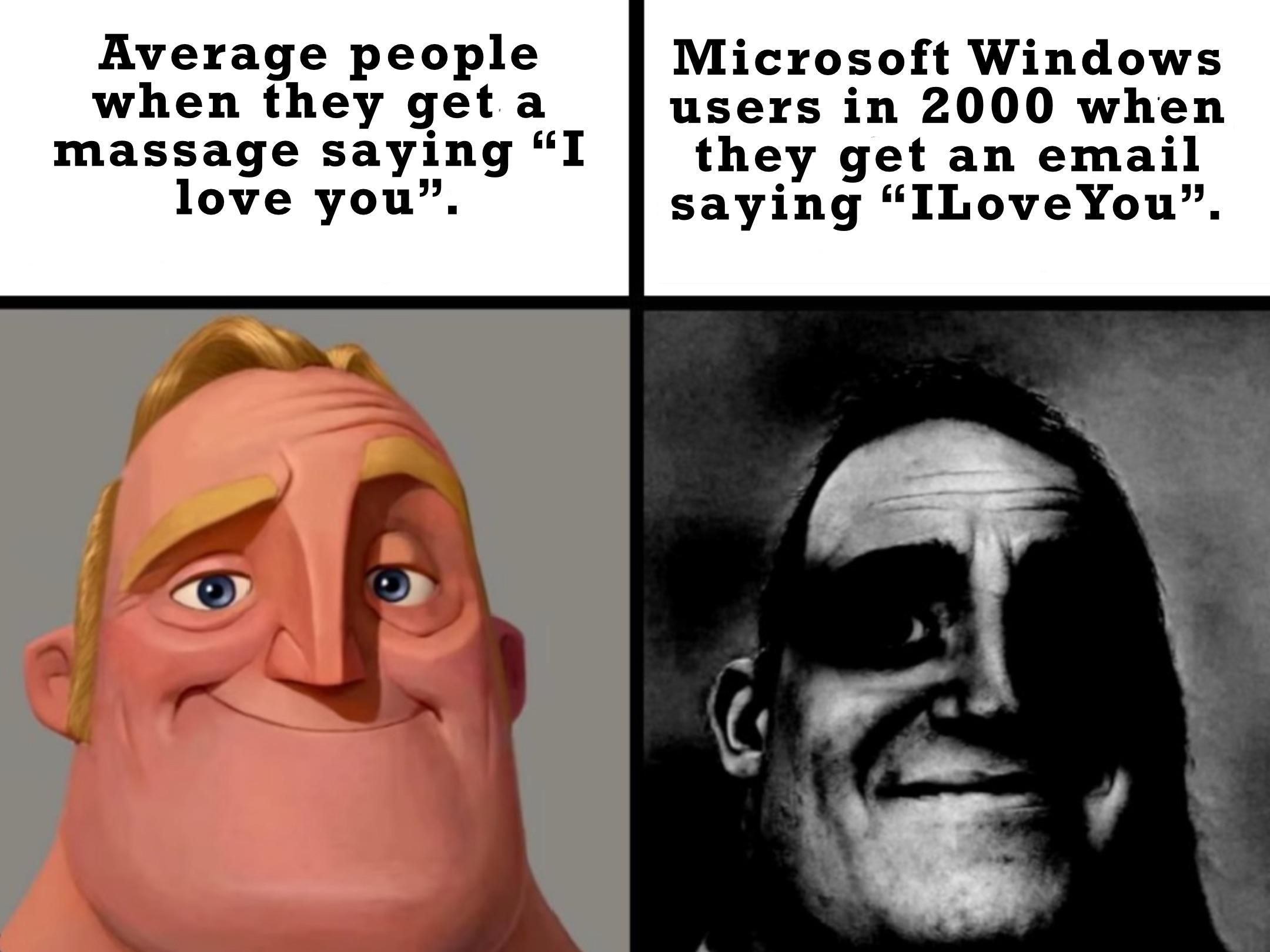 Probably the worst computer virus to ever effect the world.