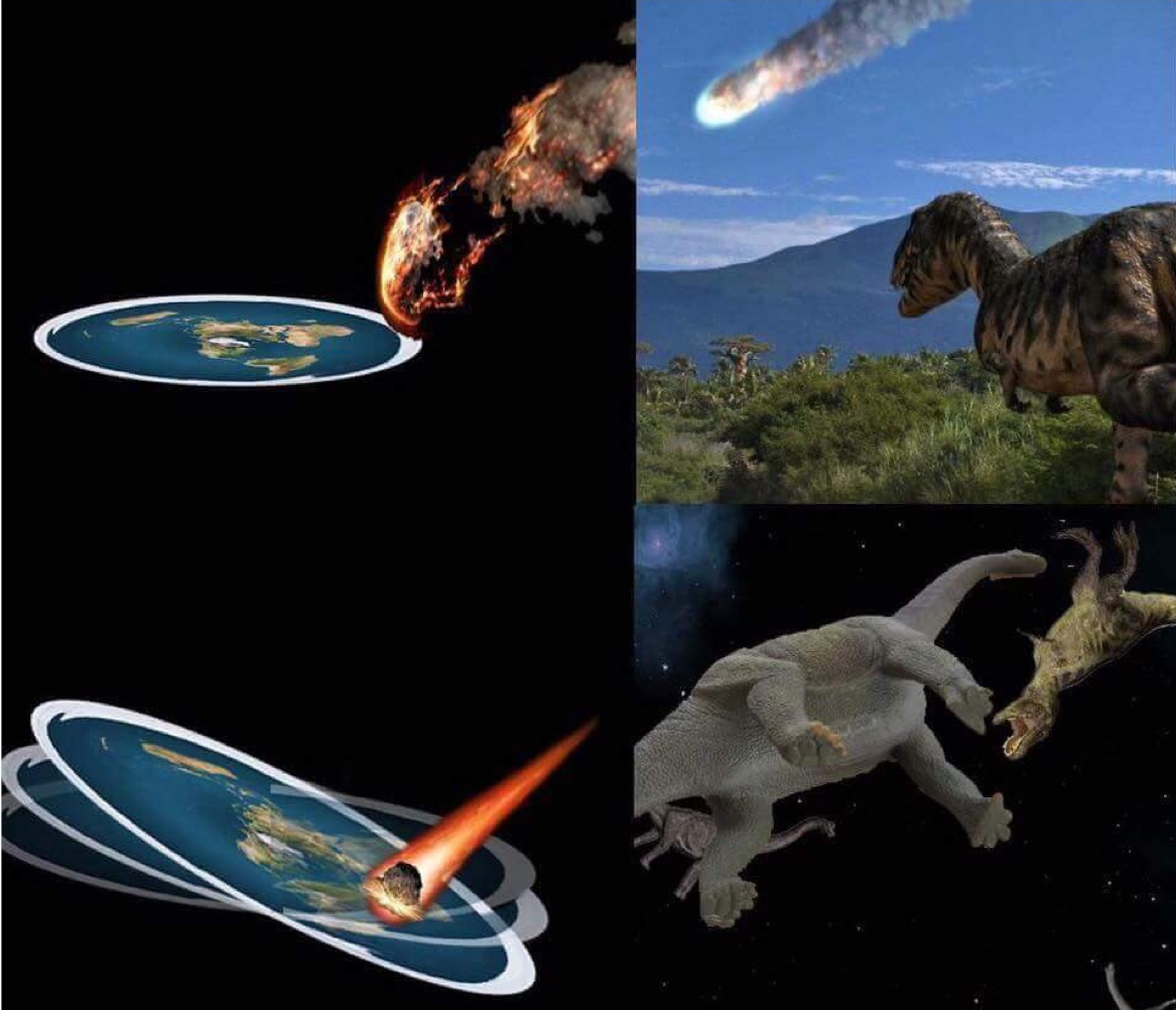 Space Dinosaurs From Mars