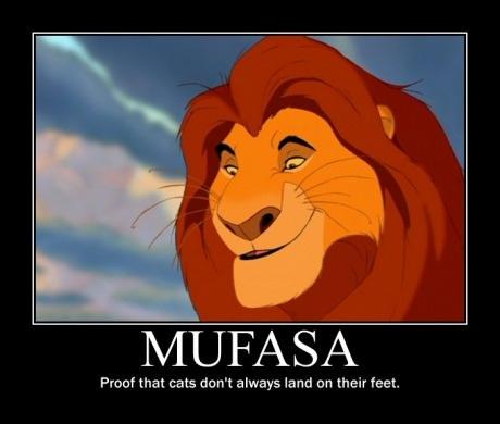 Poor Mufasa