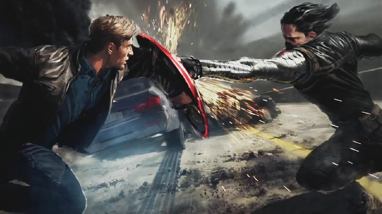 Official concept art of Captain America 2: The Winter Soldier
