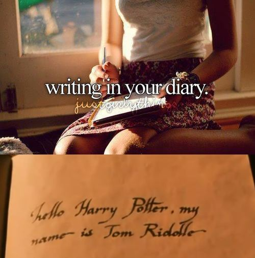 I Hate May The 4th Be With You: Just Girly Things... Like A Horcrux Diary