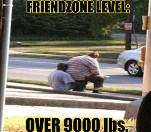 Friendzone is not only hard but also heavy