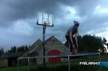 Absolutly insane trick shot