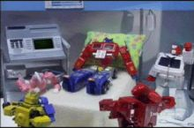 Autobots, we've lost him...