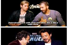 difference in the Avengers.