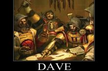 Dave wasn't the brightest soldier of the Imperium
