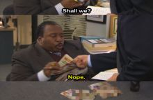 Stanley and Micheal are great (The office)
