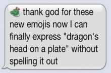 There are a lot of unnecessary emojis