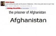 At least he wrote Afghanistan right