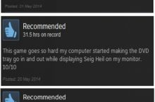 Best steam game reviews