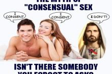 ask jesus for a threesome