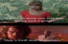 Only a Swift deals in absolutes!