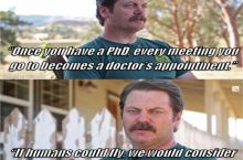 "A few of Nick Offerman's ""Shower Thoughts""."