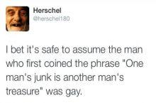 Definitely gay