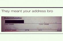 Street name