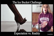 Ice Bucket Expectations