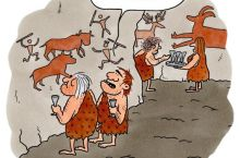 Poor Caveman Kids have to wait 150 000 till Christmas