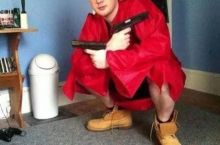 he graduated from gangster school